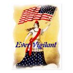 """""""Ever Vigilant"""" Vintage Patriotic"""