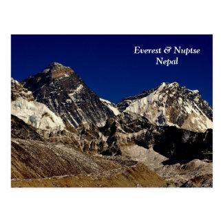 Everest and Nuptse Postcard