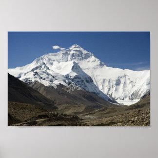 Everest Base Camp Himalayas Nepal Poster