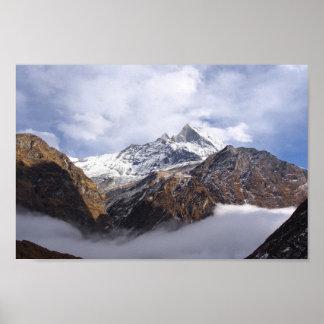 Everest Base Camp Himalayas Poster