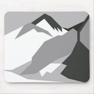 Everest Black Mouse Mat