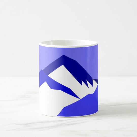 Everest Blue - Art Gallery Selection Coffee Mug