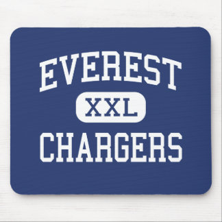 Everest Chargers Middle Everest Kansas Mouse Pad