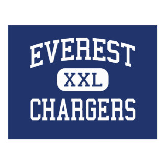 Everest Chargers Middle Everest Kansas Post Card