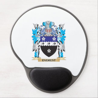 Everest Coat of Arms - Family Crest Gel Mouse Pad