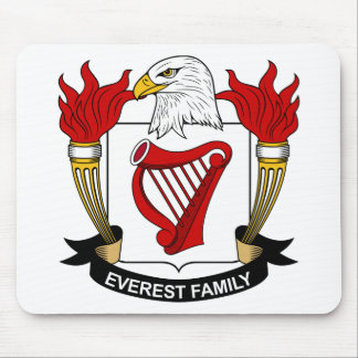Everest Family Crest Mouse Pad