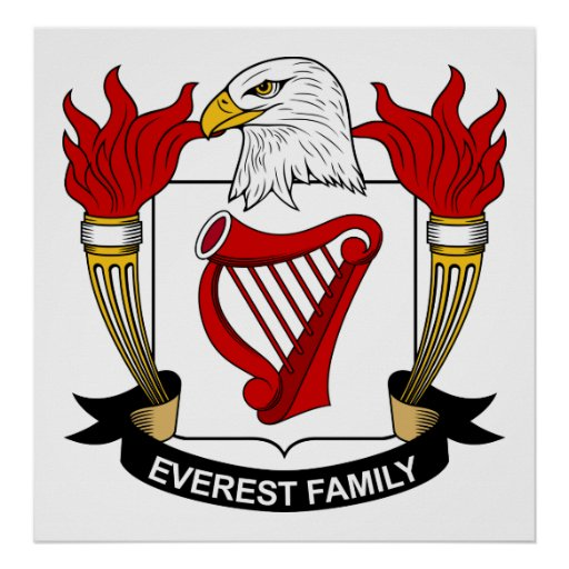 Everest Family Crest Posters