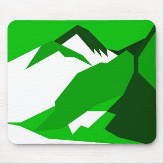 Everest - green mouse mat
