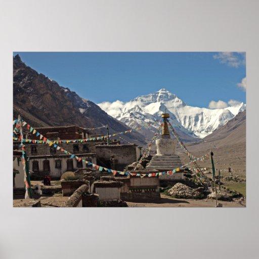 Everest Photo Poster: Tibet Photos