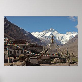 Everest Photo Poster: Tibet Photos Poster
