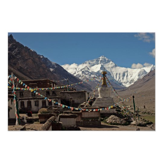 Everest Photo Poster: Tibet Photos Poster