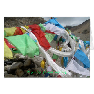 Everest Prayer Flags Greeting Card