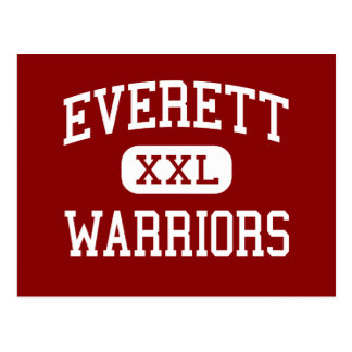 Everett - Warriors - Senior - Everett Pennsylvania Postcard