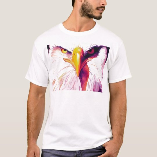 """Everette"" Eagle by Artist Paul Jackson T-Shirt"