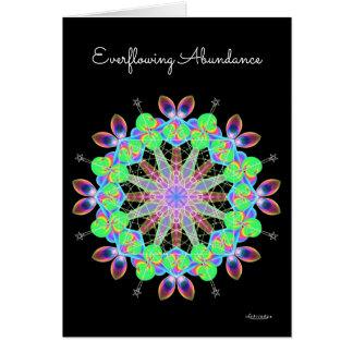 Everflowing Abundance Card