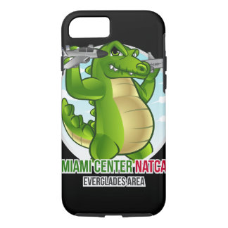 Everglades Alligator Cartoon Iphone Case