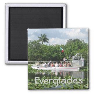 Everglades Square Magnet