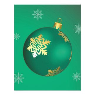 Evergreen Christmas baubles 21.5 Cm X 28 Cm Flyer