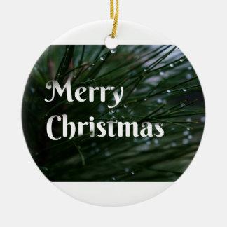 Evergreen Christmas Ornament