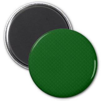 Evergreen Green Quilt Pattern Magnet