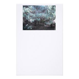 Evergreen Serenity Stationery Paper