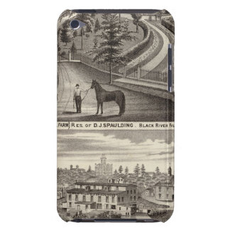 Evergreen Stock Farm, res Case-Mate iPod Touch Case