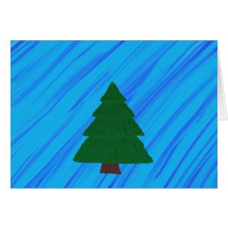 Evergreen Tree Card