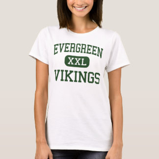 Evergreen - Vikings - High School - Metamora Ohio T-Shirt