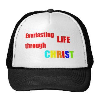 Everlasting Life through CHRIST Hats