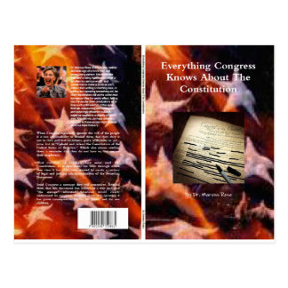 Everthing Congress Knows About the Constitution Postcard