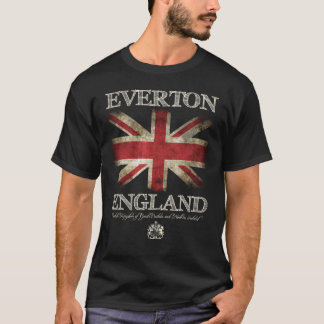 Everton England UK Flag T-Shirt