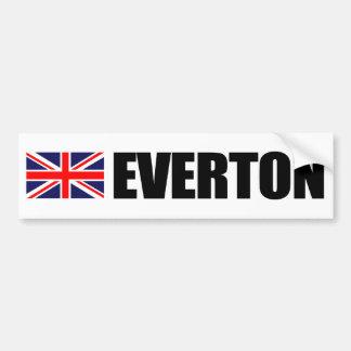 Everton UK Flag Bumper Sticker