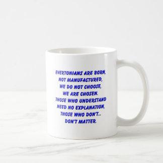 evertonians are born basic white mug