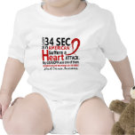 Every 34 Seconds Grandpa Heart Disease / Attack Tshirts