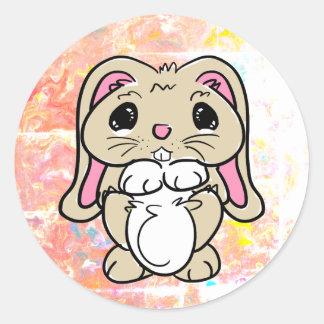Every Bunny's Friend Classic Round Sticker