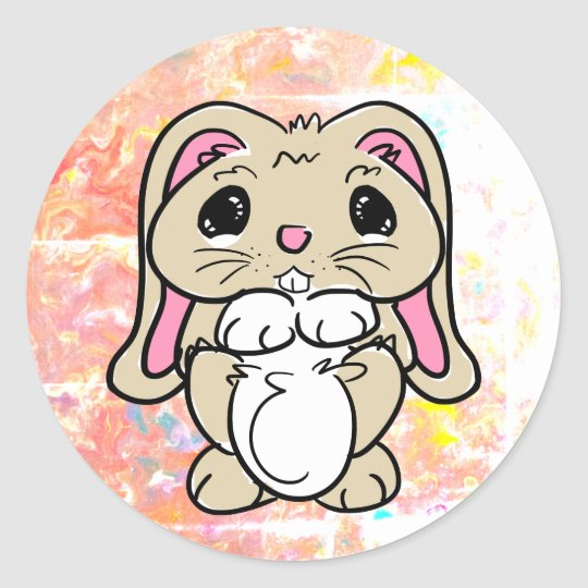 Every Bunny's Friend Classic Round Sticker