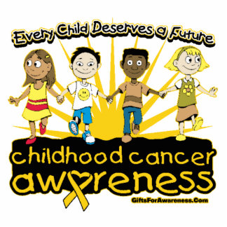 Every Child Deserves A Future Childhood Cancer Awa Photo Cut Out
