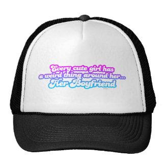Every Cute Girl Has A Boyfriend - funny comedy Mesh Hats