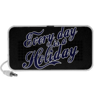 Every day is a Holiday Portable Speakers