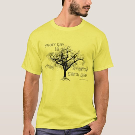Every Day is Earth Day (grey) T-Shirt