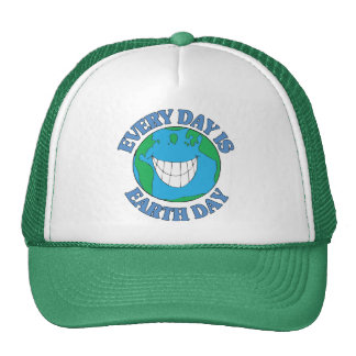 Every Day is Earth Day Trucker Hats