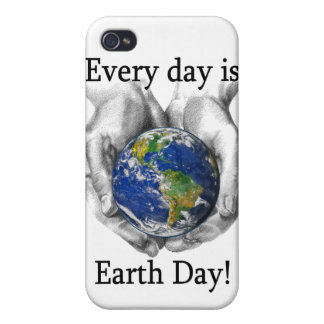Every day is Earth Day iPhone 4 Cover