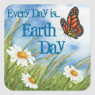 Every Day is Earth Day - Sticker