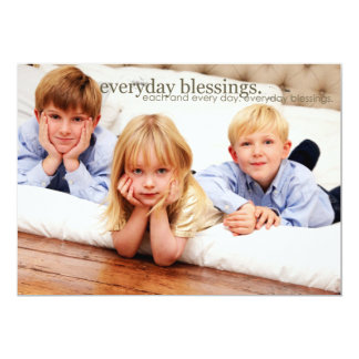 Every day photo postcards 13 cm x 18 cm invitation card