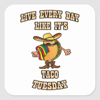 Every Day Tacos HHM Stickers