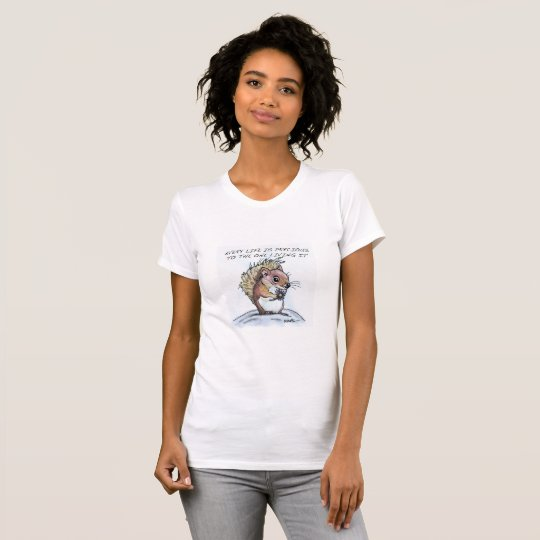 Every Life is precious Cute Squirrel Shirt