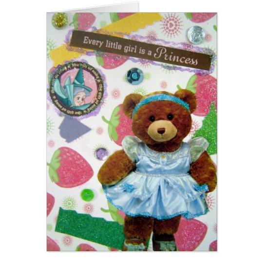 Every little girl is a Princess! Card