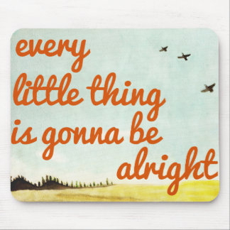 Every Little Thing Mouse Mat