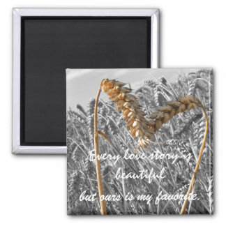 Every love story is Beautiful Quote Magnet