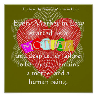 Every Mother in Law started as a Mother . Poster